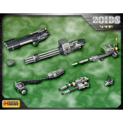 ZOIDS - HMM - 1/72 - BEAM GATLING SET