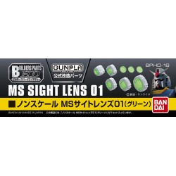 BUILDERS PARTS HD - BPHD-18 - MS SIGHT LENS 01 GREEN