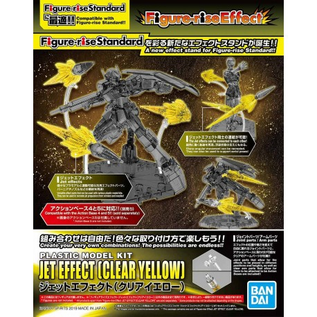 FIGURE-RISE EFFECT - JET EFFECT (CLEAR YELLOW)