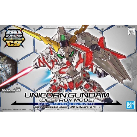 SDCS SUPER DEFORMED CROSS SILHOUETTE - No. 012 - UNICORN GUNDAM [DESTROY MODE]