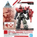 30MM 30 Minutes Missions - 1/144 - OP-12 - ARMOR FOR COMMANDER TYPE (PORTANOVA EXCLUSIVE, RED)