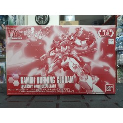 HGBF - 1/144 - Kamiki Burning Gundam [Plavsky Particle Clear]