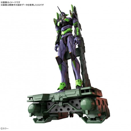 PRE-ORDER - RG ALL-PURPOSE HUMANOID DECISIVE BATTLE WEAPON ARTIFICIAL HUMAN EVANGELION UNIT 01 DX TRANSPORTER SET