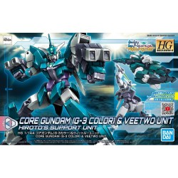 PRE-ORDER - HDBD:R - 1/144 - CORE GUNDAM (G3 COLOR) & VEETWO UNIT