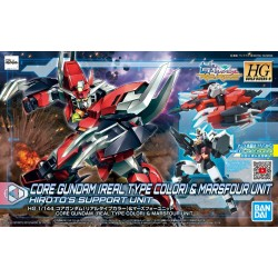 PRE-ORDER - HDBD:R - 1/144 - CORE GUNDAM (REAL TYPE COLOR) & MARSFOUR UNIT