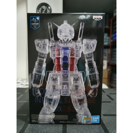 BANPRESTO - MOBILE SUIT GUNDAM INTERNAL STRUCTURE RX-78-2 GUNDAM VER. B