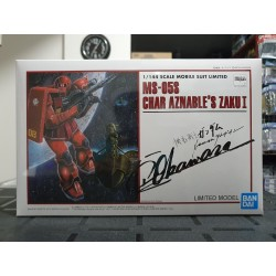 P-BANDAI - HG GUNDAM THE ORIGIN - 1/144 - MS-05S CHAR AZNABLE'S ZAKU Ⅰ LIMITED MODEL