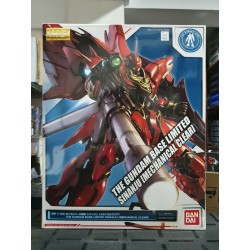 THE GUNDAM BASE LIMITED - MG MASTER GRADE - 1/100 - SINANJU MECHANICAL CLEAR