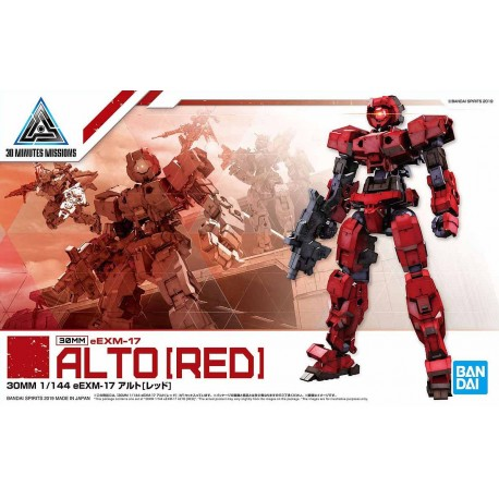 30MM 30 Minutes Missions - No. 007 - Alto [Red]