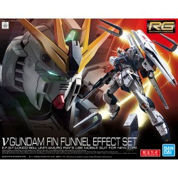 RG REAL GRADE - 1/144 - NU GUNDAM FIN FUNNEL EFFECT SET (LIMITED)