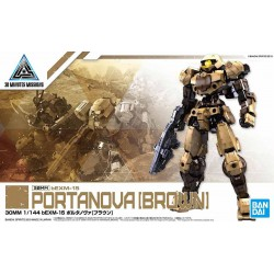 30MM 30 Minutes Missions - No. 016 - 1/144 - PORTANOVA [BROWN]
