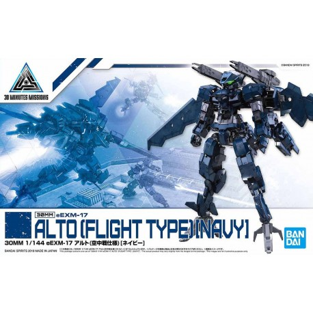 30MM 30 Minutes Missions - No. 015 - 1/144 - ALTO (FLIGHT TYPE)[NAVY]