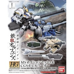 HG IBA - 001 - 1/144 - MS OPTION SET 1 & CGS MOBILE WORKER