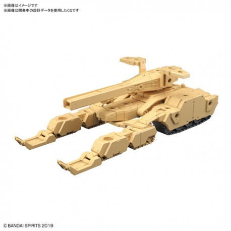 PRE-ORDER - 1/144 30MM EXA VEHICLE (TANK VER.) (BROWN)