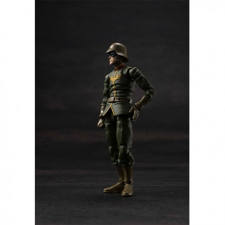 PRE-ORDER - G.M.G. (Gundam Military Generation) Mobile Suit Gundam Zeon Army Normal Soldier 01 1/18 Posable Figure