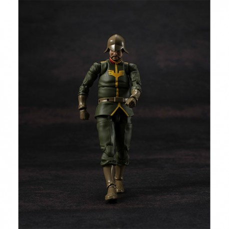 PRE-ORDER - G.M.G. (Gundam Military Generation) Mobile Suit Gundam Zeon Army Normal Soldier 02 1/18 Posable Figure