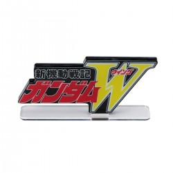 PRE-ORDER - Acrylic Logo Display EX Mobile Suit Gundam Wing