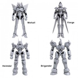 PRE-ORDER - Xenogears Structure Arts 1/144 Scale Plastic Model Kit Series Vol. 1
