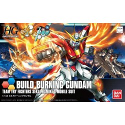 HGBF High Grade Build Fighters - No. 018 - 1/144 - BG-011B Build Burning Gundam