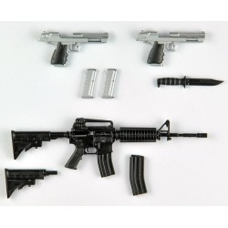 PRE-ORDER - 1/12 LITTLE ARMORY (LABH01) BIOHAZARD: INFINITE DARKNESS WEAPONS 1