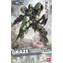 PREORDER 1/100 Graze (Normal Type / Commander Type)