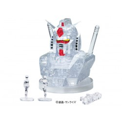 RX-78-2 55 Pcs. Crystal Puzzle (Clear Ver.)