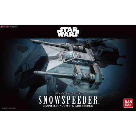 STAR WARS 1/48 Snowspeeder by Bandai