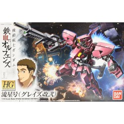 HG Iron-Blooded Orphans - 012 - 1/144 - Ryusei-Go (Graze Custom II)