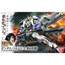 HG Iron-Blooded Orphans - 015 - 1/144 - ASW-G-08 Gundam Barbatos 6th Form