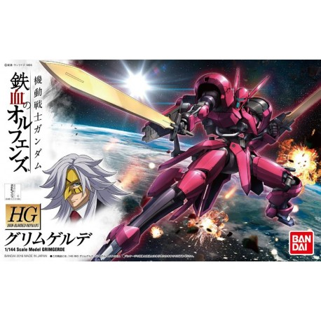 HG High Grade Iron-Blooded Orphans - No. 014 - 1/144 - V08-1228 Grimgerde