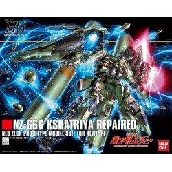 HGUC No. 179 1/144 NZ-666 Kshatriya Repaired
