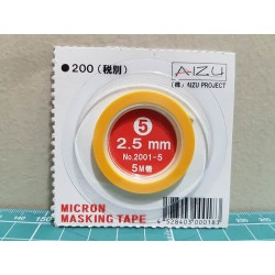 MICRON MASKING TAPE 2.5 mm BY AIZU PROJECT