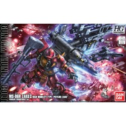 PRE-ORDER HG 1/144 High Mobility Type Psycho Zaku Thunderbolt (Anime Color Ver.)
