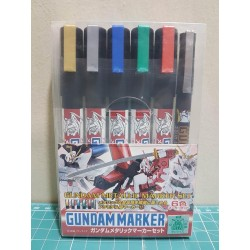 GMS121 Gundam Marker Metallic Set
