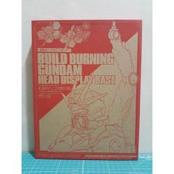 Build Burning Gundam Head Display Base
