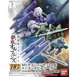 PRE-ORDER HG 1/144 MS Option Set 4 & Union Mobile Worker