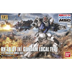 010 HG 1/144 RX-78-01[N] GUNDAM LOCAL TYPE MSD VER. (ORIGIN)