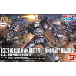 HG GTO No. 011 1/144 Guncannon First Type (Iron Cavalry Squadron)
