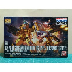 HG Gundam The Origin - No. 014 - 1/144 - RCX-76-01 Guncannon Mobility Test Type / Firepower Test Type