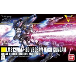 HGUC - No. 188 - 1/144 - LM312V04+SD-VB03A V-Dash Gundam