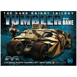 Moebius 1/25 Tumbler with Bane [The Dark Knight Trilogy]