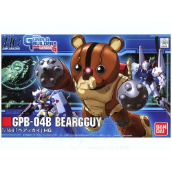 HG High Grade Gunpla Builders - No. 004 - 1/144 - GPB-04B Beargguy