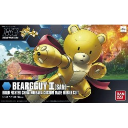 HGBF High Grade Build Fighters - No. 005 - 1/144 - KUMA-03 Beargguy III