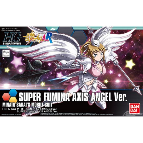 HGBF High Grade Build Fighters - No. 054 - 1/144 - Super Fumina Axis Angel Ver.
