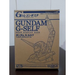Gundam G-Self Head Display Base (No Magazine)