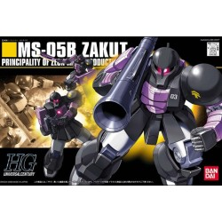HGUC - No. 068 - 1/144 - MS-05B Zaku I Black Tri-Stars Type