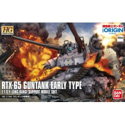 HG Gundam The Origin - No. 002 - 1/144 - RTX-65 Guntank Early Type