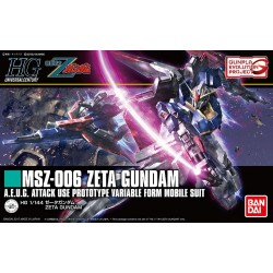HGUC No. 203 1/144 MSZ-006 Zeta Gundam [Gunpla Evolution Project]