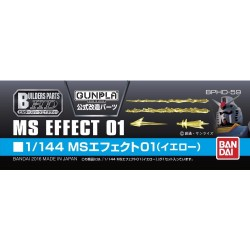 Builders Parts HD BPHD-59 MS Effect 01 (Yellow) 1/144