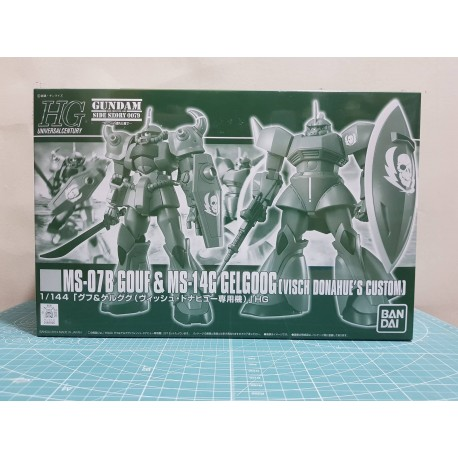 [P-Bandai] HGUC 1/144 Gelgoog and Gouf Visch Donahue Custom